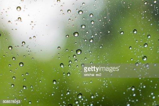 Drop of water on mirror : Bildbanksbilder