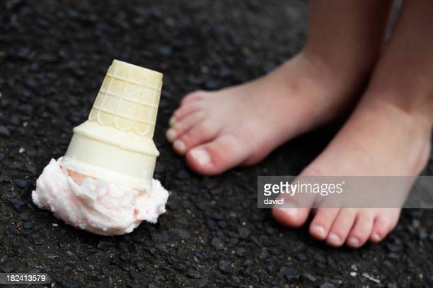 Dropped Ice Cream and Feet