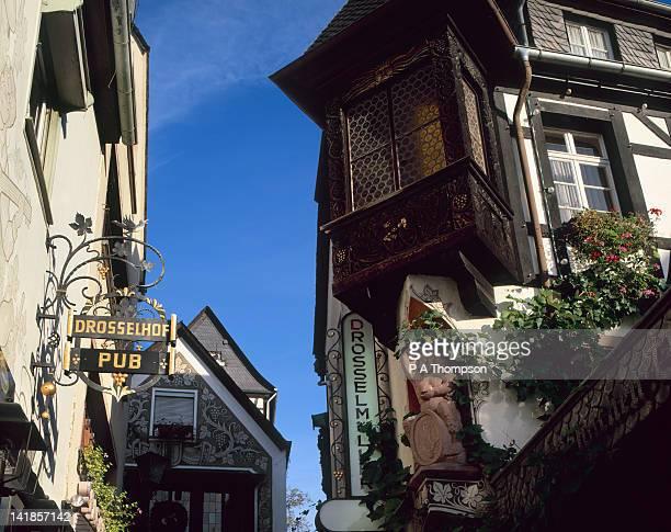 Drosselgasse, Rudesheim, Hessen, Germany