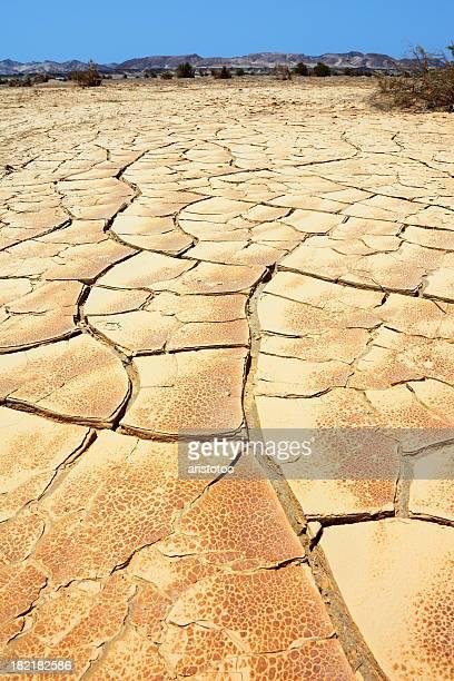 Drought: Cracked Earth in Eastern Desert, Egypt