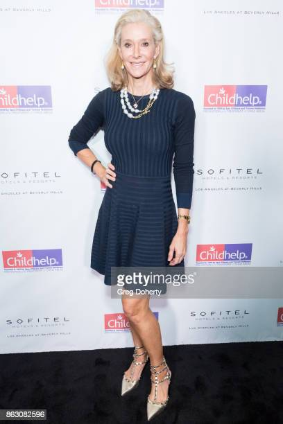 Dru Hammer arrives for the Childhelp Hosts An Evening Celebrating Hollywood Heroes at Riviera 31 on October 18 2017 in Beverly Hills California
