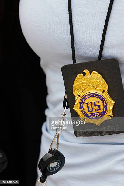 Drug Enforcement Administration agent arrives at Armstrong Medical Clinic where Dr Conrad Murray a doctor for Michael Jackson has an office July 22...