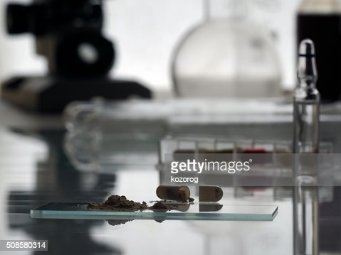 Drug Research in the laboratory : Stockfoto