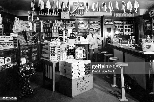 Drug store in milwaukee wisconsin ca 1935 pictures for Craft stores in milwaukee