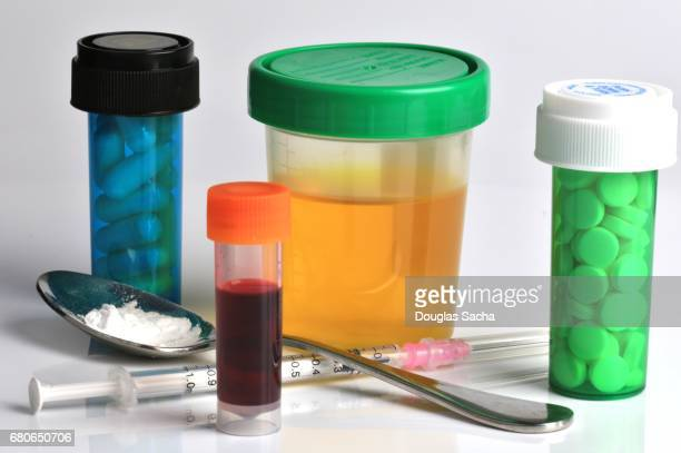 Drug use and drug testing paraphernalia