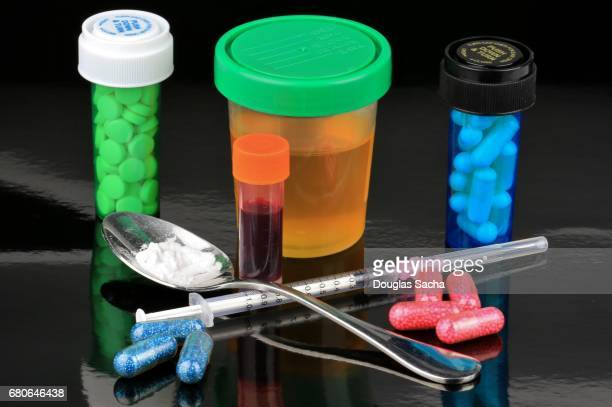 Drug use testing and drug use paraphernalia