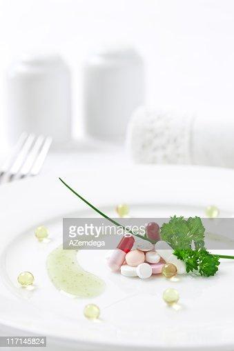 Farmaci come cibo : Stock Photo
