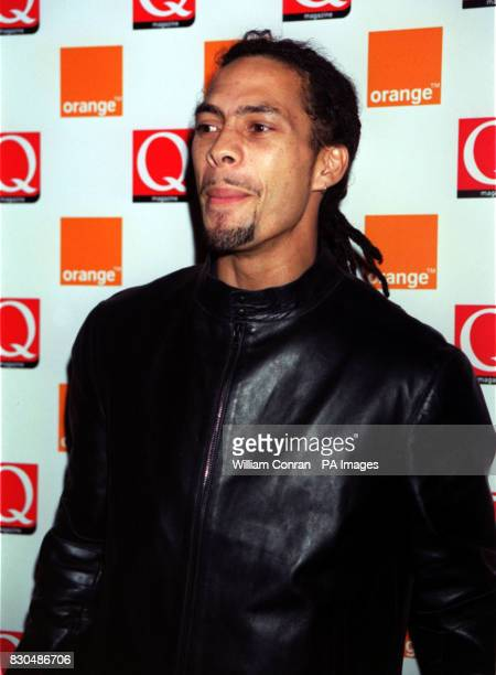 Drum and Bass artist Roni Size at the Park Lane Hotel central London for the Q Awards The event sponsored by music magazine Q is one of the...