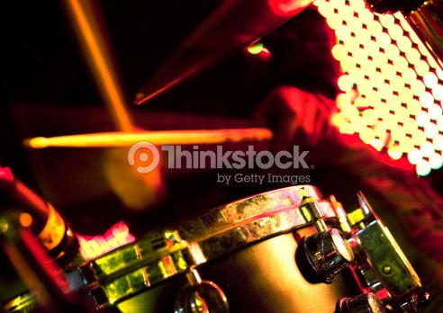 drum player on the stage. : Stock Photo