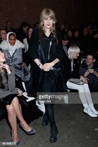 Drummer/ actress Tennessee Thomas attends the Christian Siriano fashion show during MercedesBenz Fashion Week Fall 2014 at Eyebeam on February 8 2014...