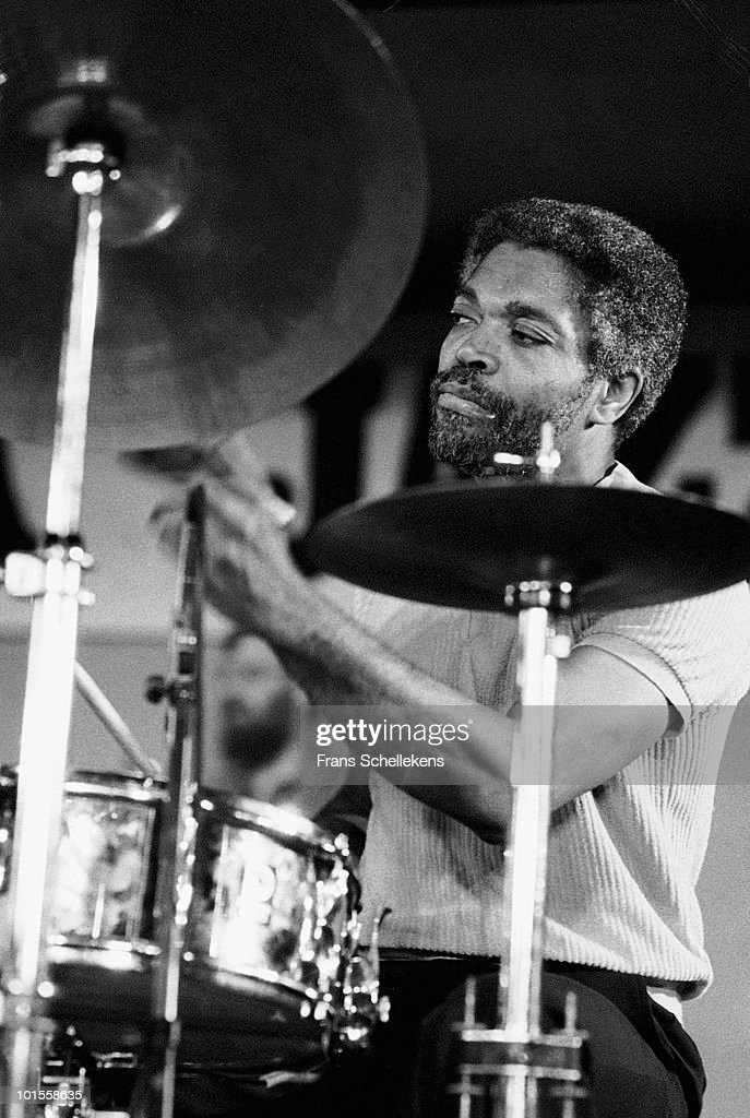 Drummer Billy Hart performs live on stage at the North Sea Jazz Festival in The Hague, Holland on July 10 1983