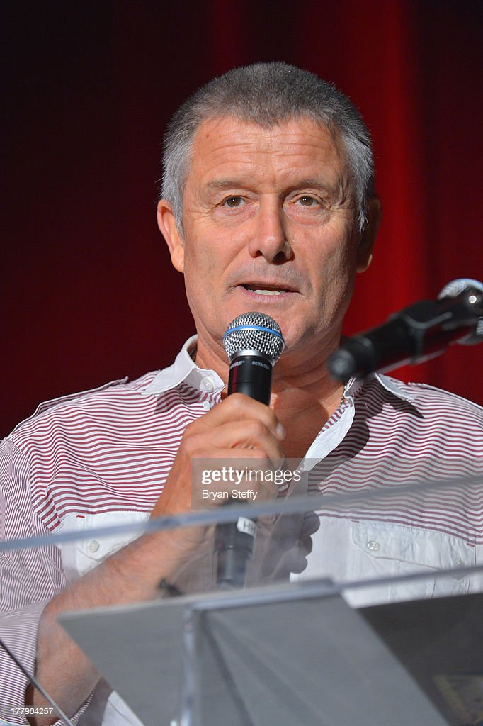 Drummer <a gi-track='captionPersonalityLinkClicked' href=/galleries/search?phrase=Carl+Palmer&family=editorial&specificpeople=1631170 ng-click='$event.stopPropagation()'>Carl Palmer</a> appears at the Vegas Rocks! Magazine Music Awards 2013 at the Joint inside the Hard Rock Hotel & Casino on August 25, 2013 in Las Vegas, Nevada.
