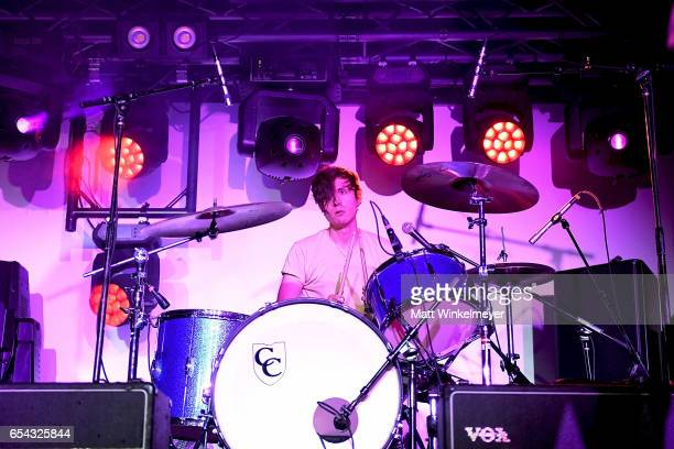 Drummer Connor Oakley of Two Lips performs during the Spoon SXSW Residency 2017 SXSW Conference and Festivals on March 16 2017 in Austin Texas