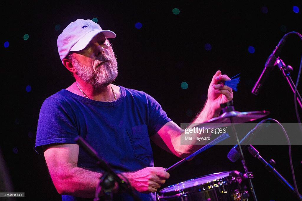 Drummer David Lovering of the Pixies performs on stage during an EndSession hosted by 107.7 The End at the Triple Door Theater on February 19, 2014 in Seattle, Washington.
