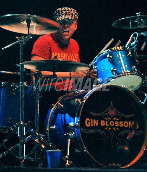 Drummer Douglas Swartz of the...