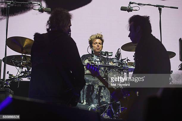 Drummer Jason Cooper of the Cure performs on stage during the Sasquatch Music Festival at Gorge Amphitheatre on May 29 2016 in George Washington