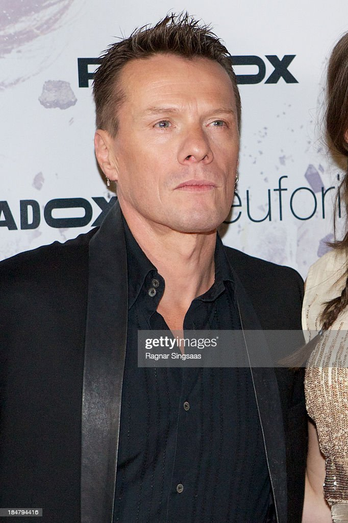 U2 drummer Larry Mullen Jr attends the Oslo premiere of 'A Thousand Times Good Night' at Colosseum on October 16, 2013 in Oslo, Norway.