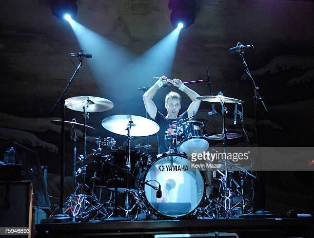 Drummer Matt Cameron of Pearl Jam performs at The Vic Theatre on August 2 2007 in Chicago *Exclusive*
