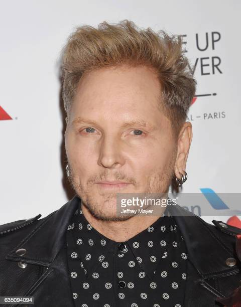 Drummer Matt Sorum arrives at the Universal Music Group's 2017 GRAMMY After Party at The Theatre at Ace Hotel on February 12 2017 in Los Angeles...