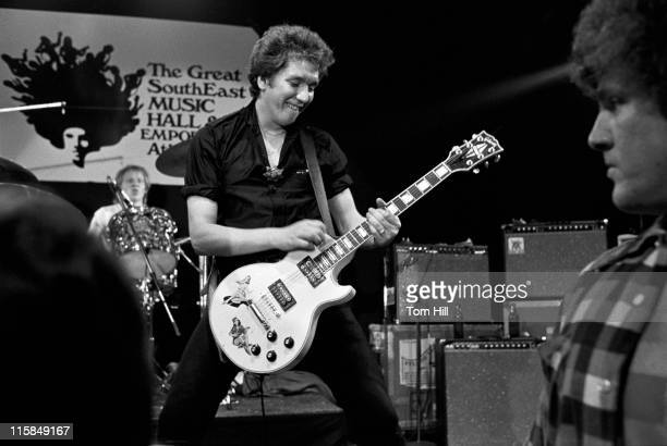 Paul Cook and Steve Jones of the Sex Pistols during Sex Pistols Play Their First North American Concert at Great SouthEast Music Hall in Atlanta...