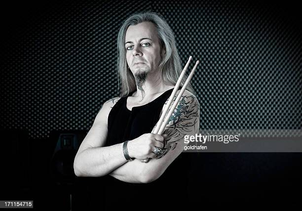 drummer| portrait of a musician
