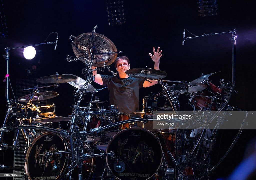 Drummer Ray Luzier of Korn performs during 2013 Rock On The Range at Columbus Crew Stadium on May 17, 2013 in Columbus, Ohio.