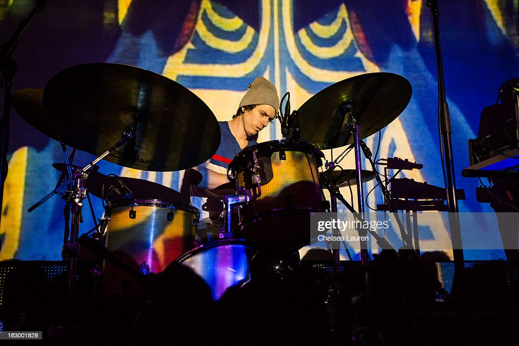 Drummer Rory O'Connor performs at Hollywood Palladium on March 2, 2013 in Hollywood, California.