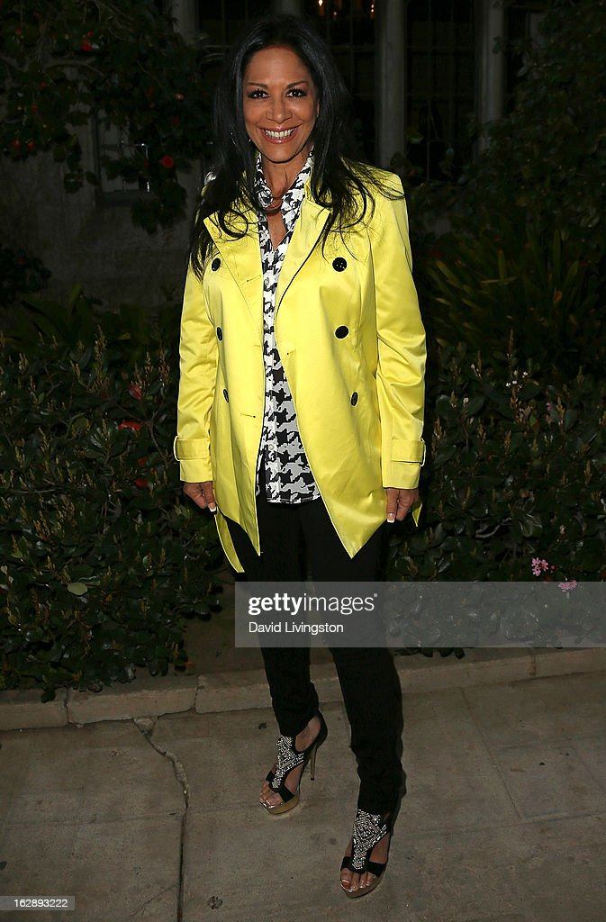 Drummer Sheila E. attends the 35th Anniversary Playboy Jazz Festival news conference at the Playboy Mansion on February 28, 2013 in Beverly Hills, California.