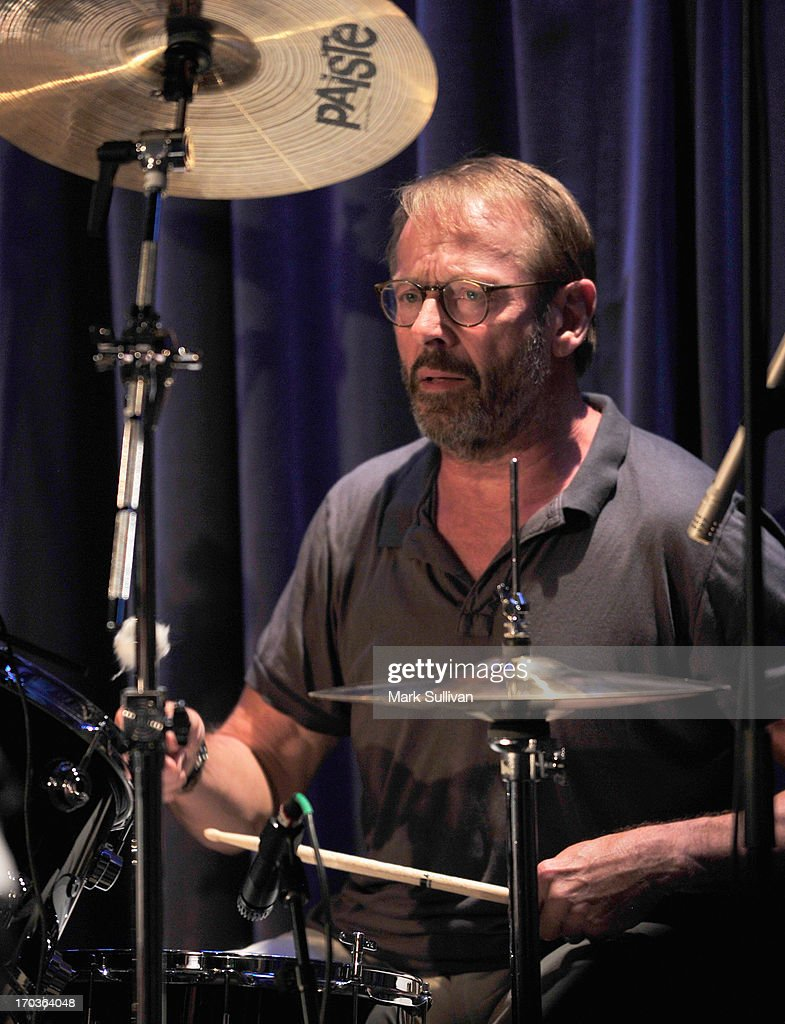 Drummer Simon Kirke performs during An Evening With Bad Company at The GRAMMY Museum on June 11, 2013 in Los Angeles, California.