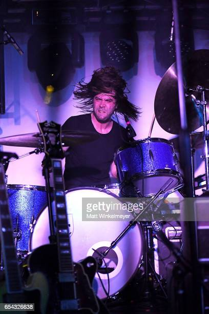 Drummer Zac Catanzaro of Walker Lukens performs during the Spoon SXSW Residency 2017 SXSW Conference and Festivals on March 16 2017 in Austin Texas