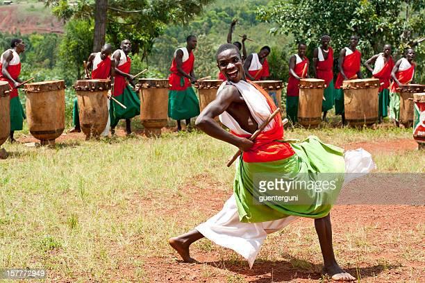 Drummers et danseurs de de Gitega au Burundi, Afrique