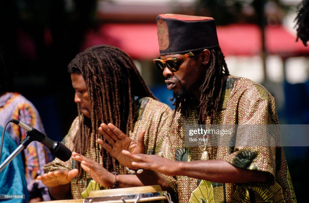 Drummers at the Gullah Festival in South Carolina