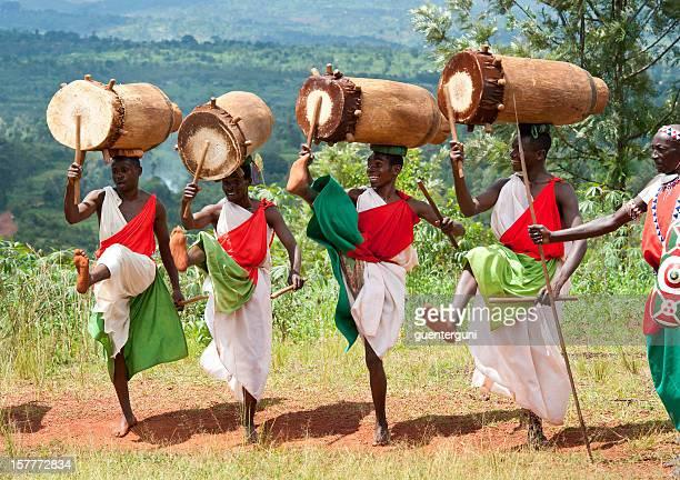 Drummers of Gitega in Burundi, Africa