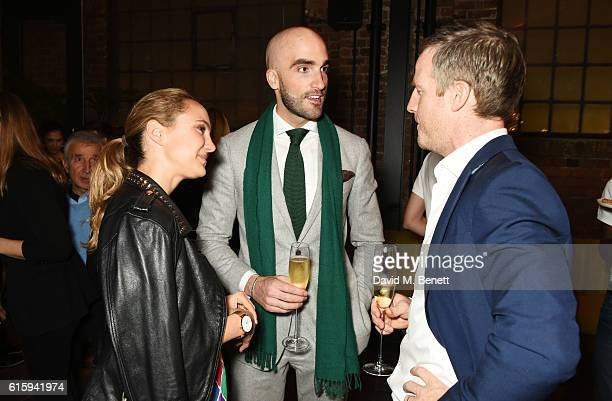 Drummond Money Coutts attends the Tatler Little Black Book party with Polo Ralph Lauren at Restaurant Ours on October 20 2016 in London England