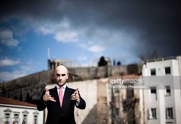 Drummond Money Coutts poses for a portrait session on March 20 2015 in Athens Greece