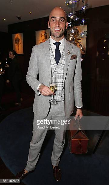Drummond MoneyCoutts attends a Start of the Season supper hosted at Rivea Bulgari Hotel on May 18 2016 in London England