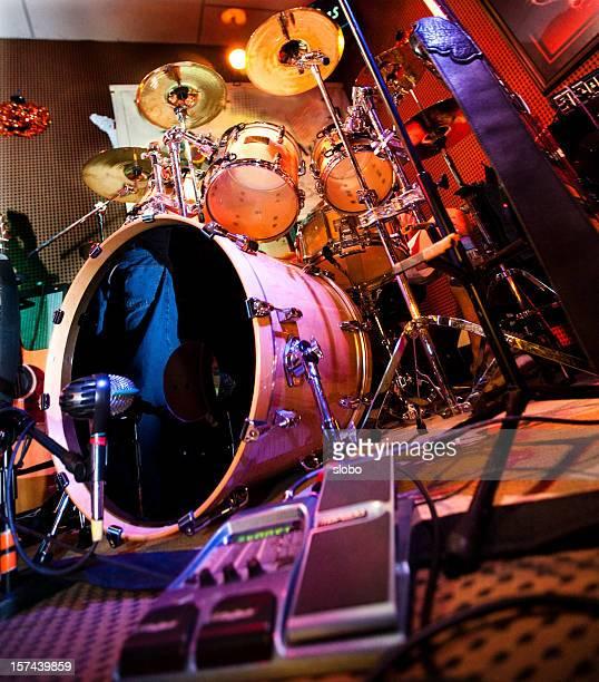 ドラムのステージ