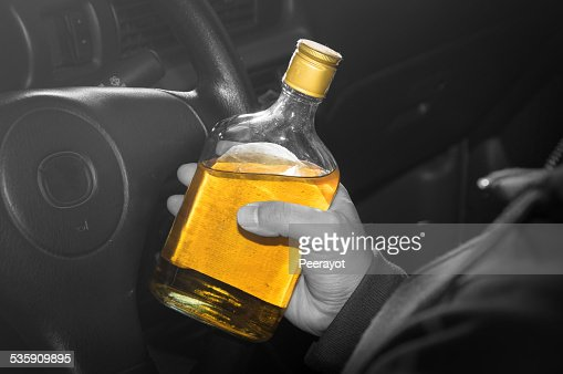 Drunk driver,social problem concept. : Stock Photo