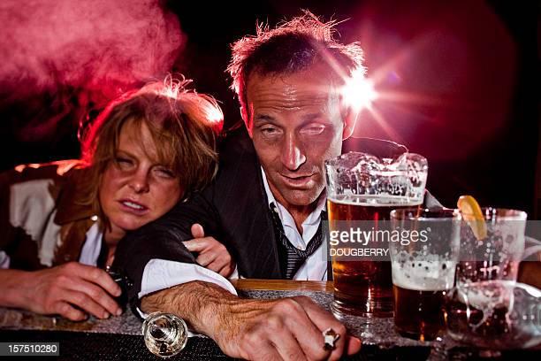 Drunks an der Bar