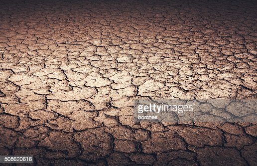 Dry Cracked Earth : Stock Photo