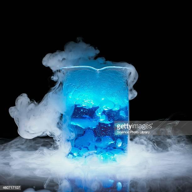 Dry ice vaporising
