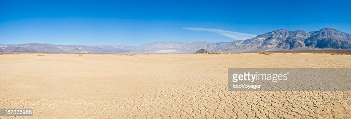Dry lake desert vista