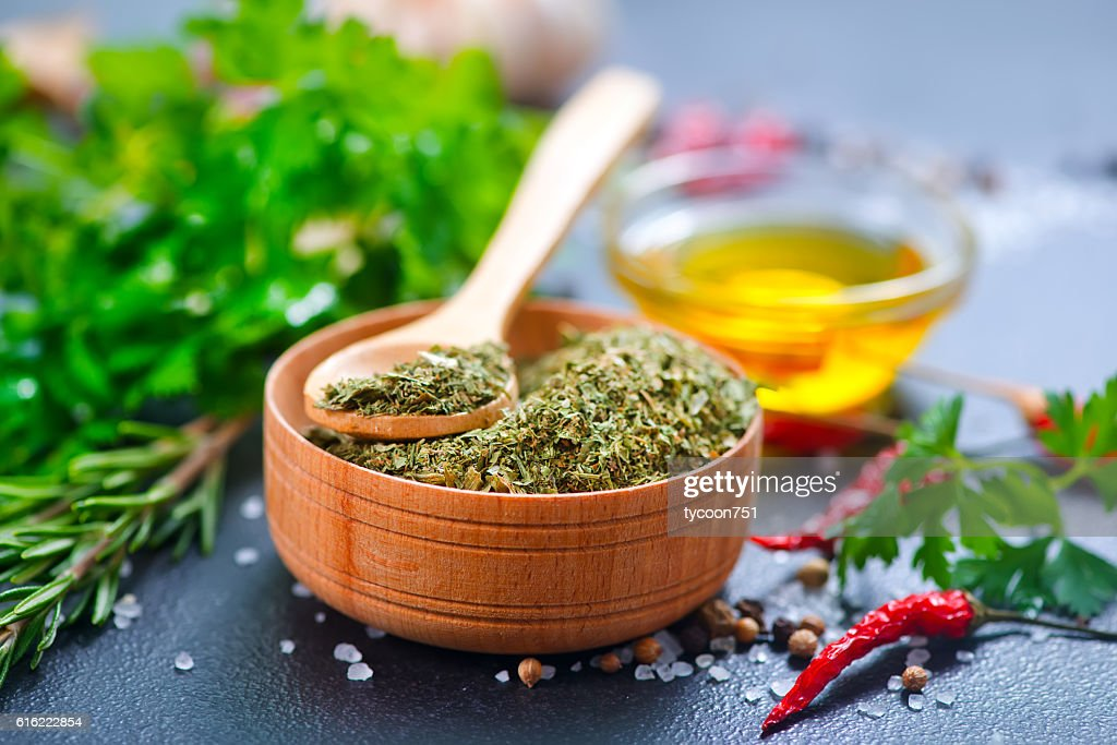 dry parsley : Stock Photo