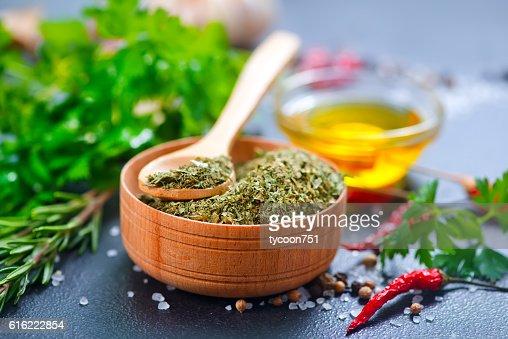 dry parsley : Stock Photo