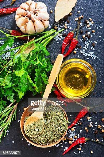 dry parsley : Stockfoto