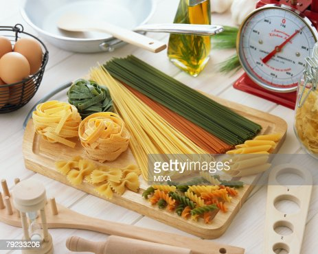 Dry pasta : Stock Photo