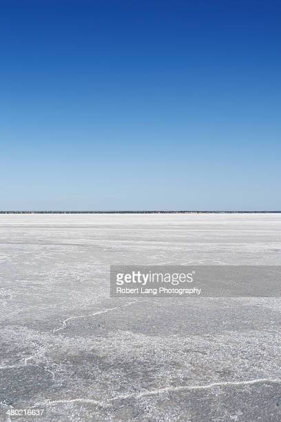 Dry salt lake, South Australia