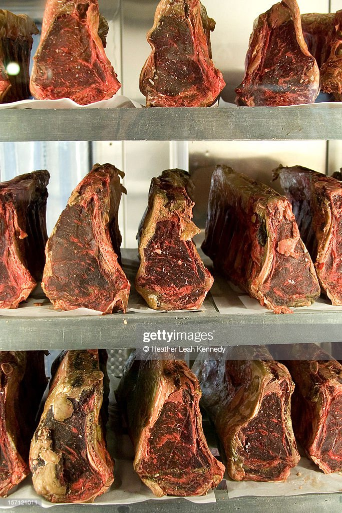 Dry-aging : Stock Photo