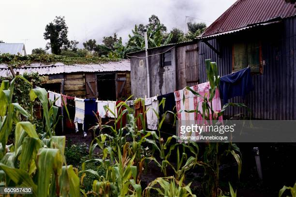 Drying Clothes in Village