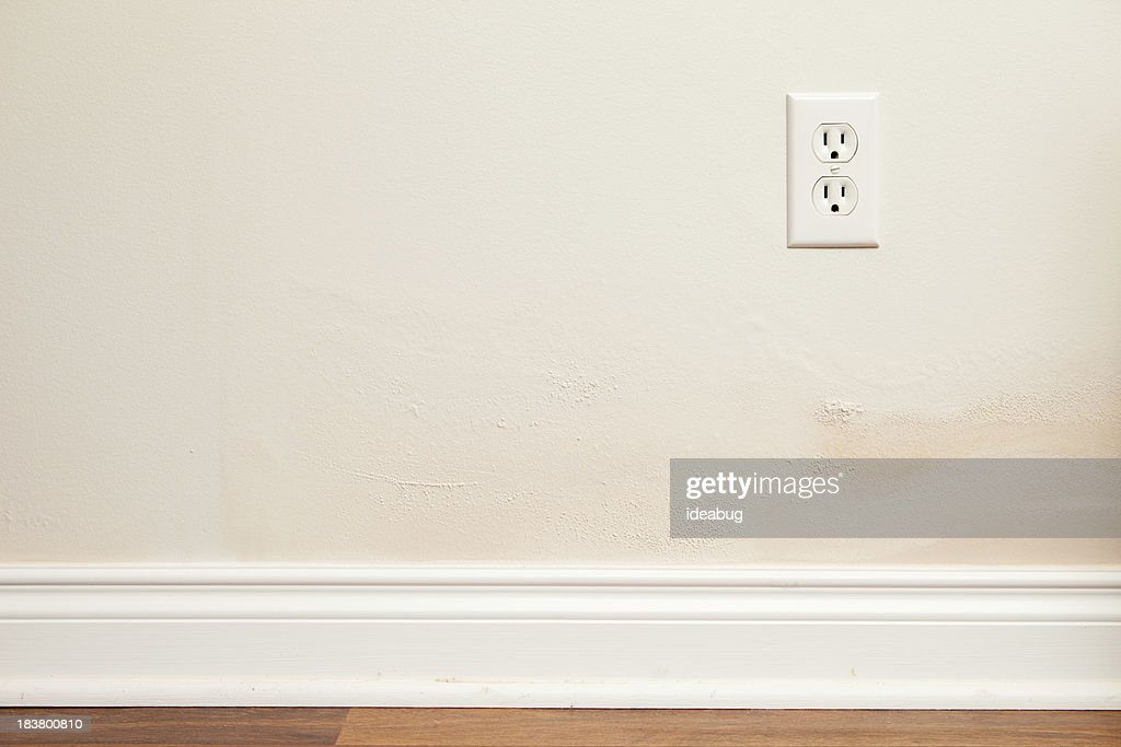Drywall and Paint with Water Damage Inside Home